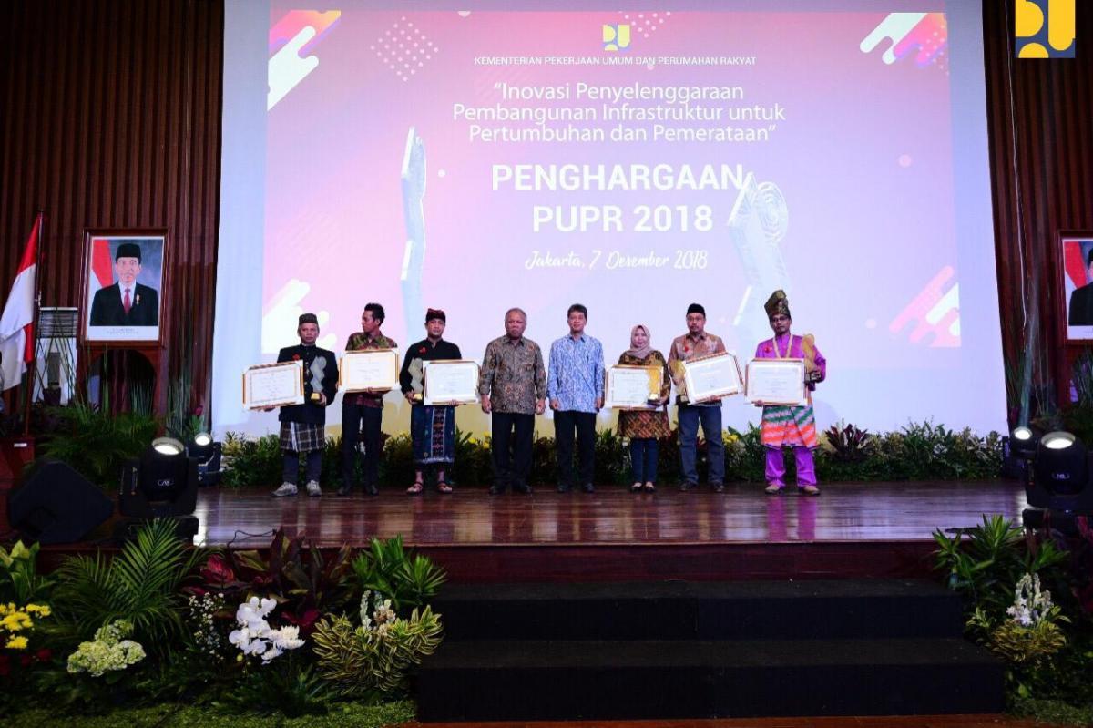 6 Komunitas Peduli Sungai Mendapatkan Penghargaan PUPR Tahun 2018