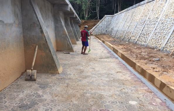 Penyediaan Air Bersih di Kawasan Perbatasan Pulau Tiga Kabupaten Natuna Pra Serah Terima Pertama