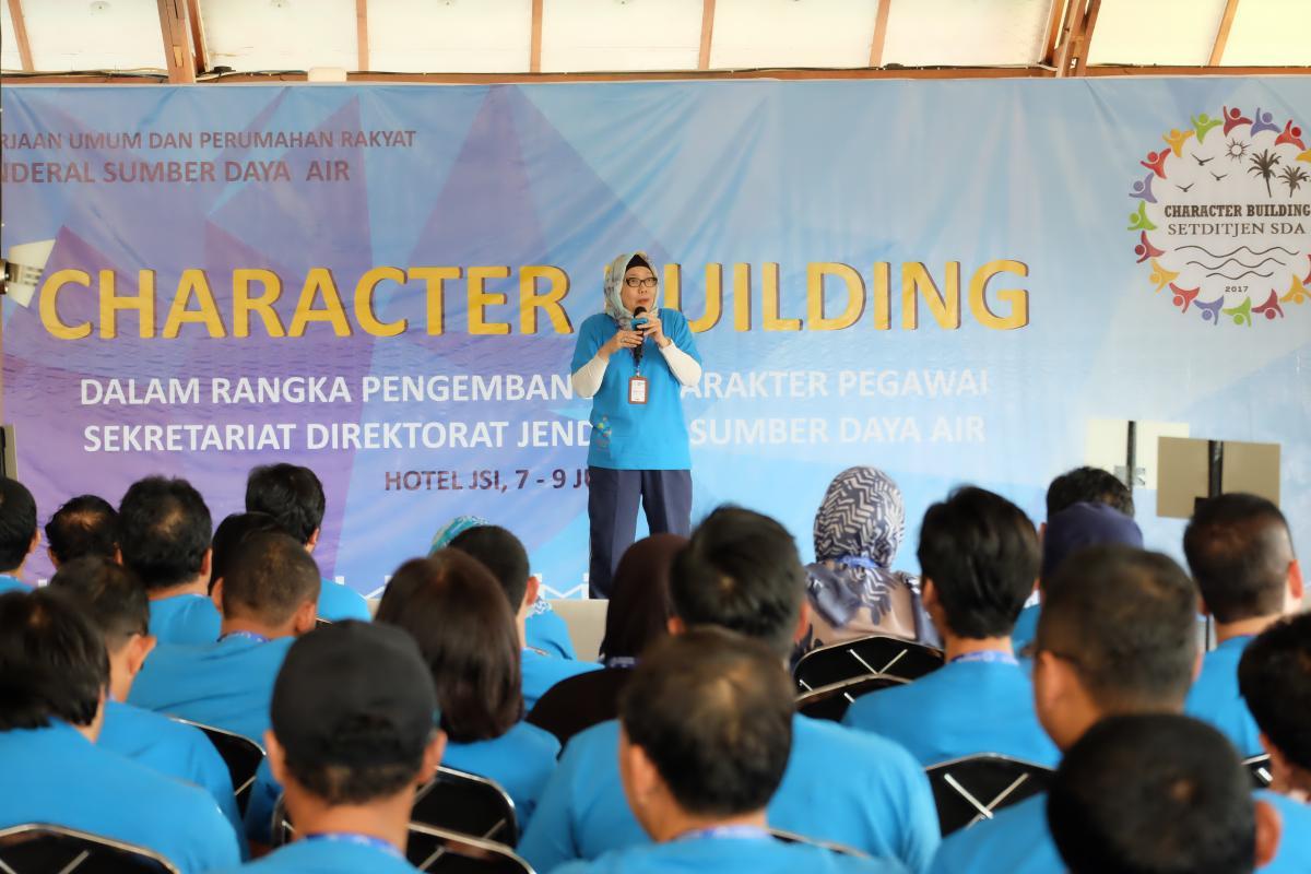 Character Building Bantu Pengembangan Karakter Pegawai Setditjen SDA