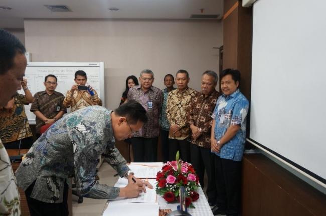 Penandatanganan Kontrak Pembangunan Bendungan Keureuto