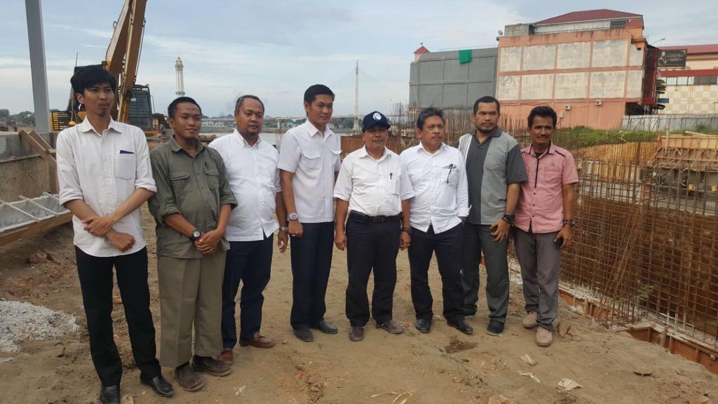 Monitoring Pekerjaan Jambi Flood Control