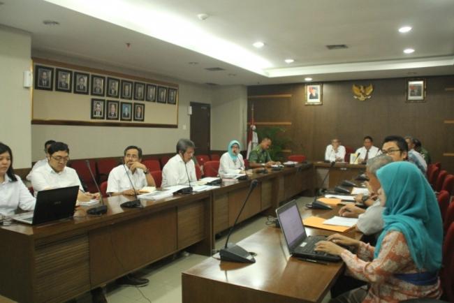 Koordinasi PUPR, Kemtan dan TNI untuk Irigasi dan Pangan Nasional