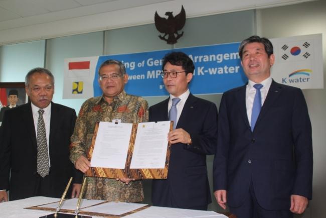 Indonesia Korea Siap Kerja Sama untuk Pengelolaan Sumber Daya Air Terpadu