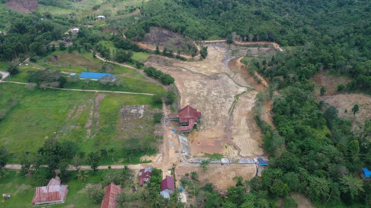 Dua Embung dibangun di Kabupaten Konawe Selatan Tahun 2020 ini