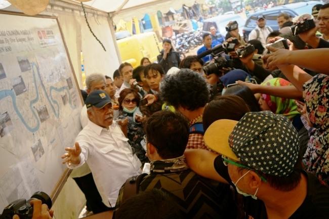 Normalisasi Sungai Ciliwung Diharapkan Atasi Masalah Banjir DKI Jakarta