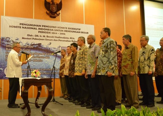 Pengukuhan Pengurus Komite Eksekutif KNIBB Periode 2014 2016