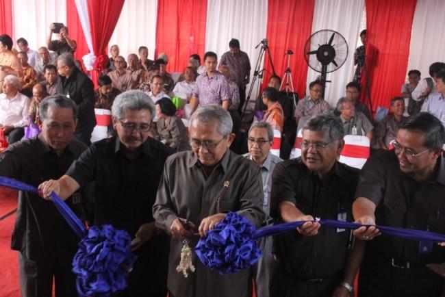 Menteri PU Resmikan Gedung Balai Bendungan dan Assessment Center