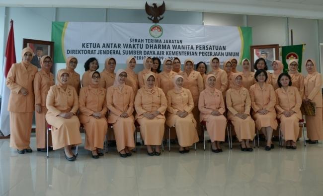 Serah Terima Jabatan DWP Unit Ditjen SDA