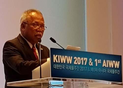 Hadiri AIWW di Korea Selatan, Mantapkan Kerjasama Pengelolaan SDA Mitigasi Bencana di Asia