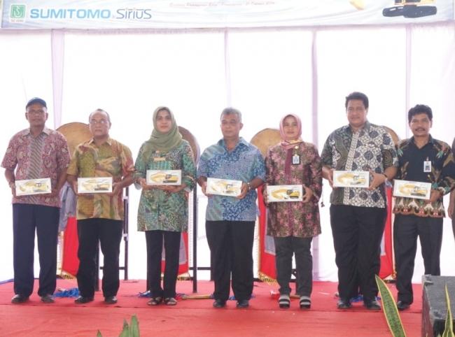 Hibah Peralatan Berat Pemerintah Jepang Kepada Pemerintah Indonesia