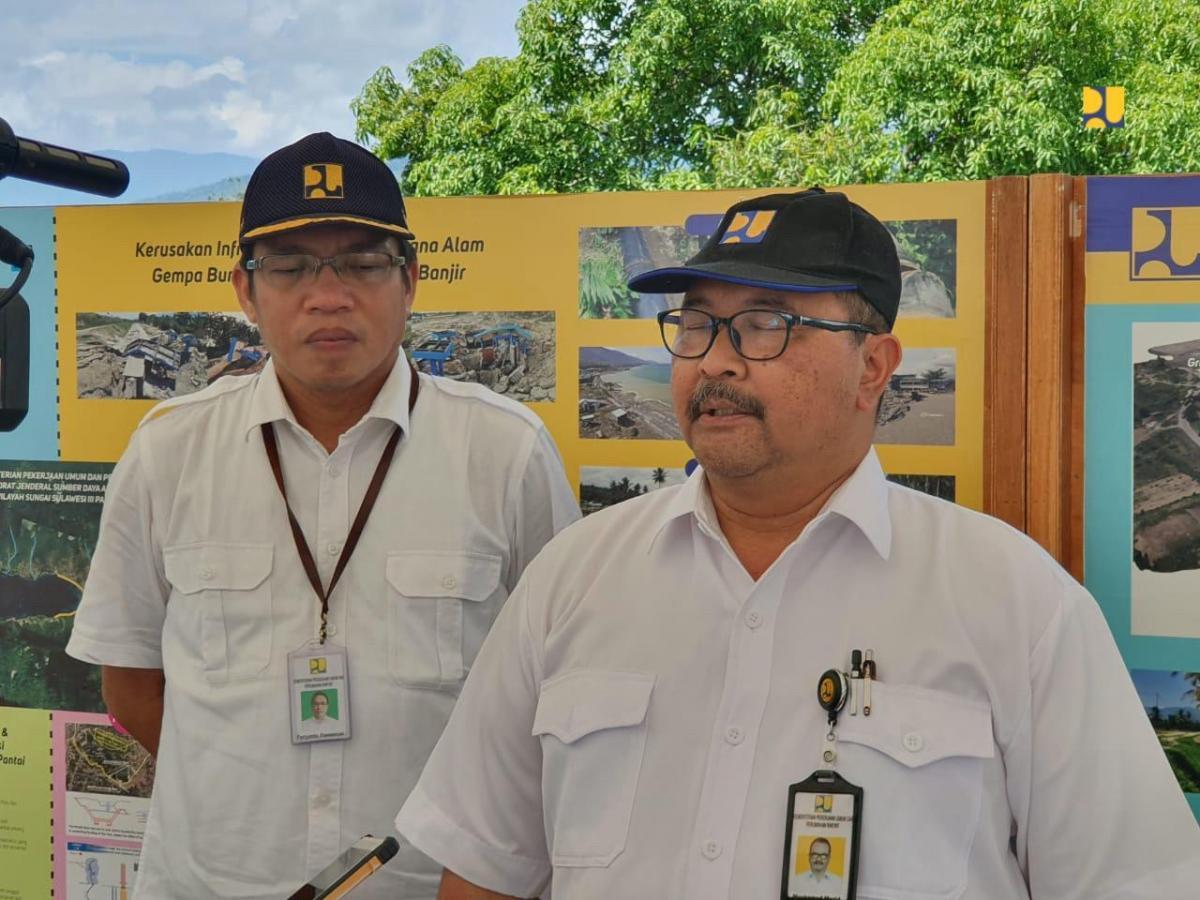 Pulihkan Produksi Pertanian Tanaman Pangan, Kementerian PUPR Rehabilitasi Bendung dan Saluran Irigasi Gumbasa, Sulteng