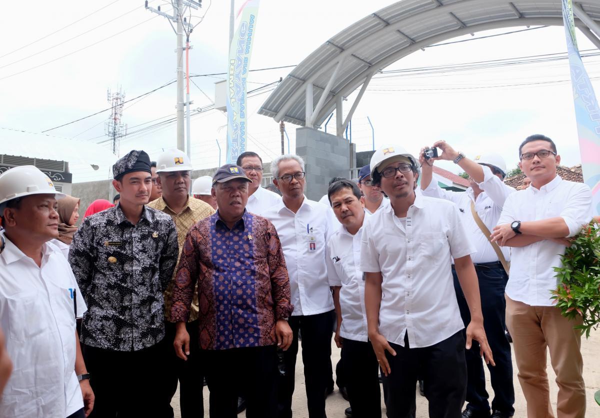 Menteri PUPR Basuki Blusukan ke Jambi