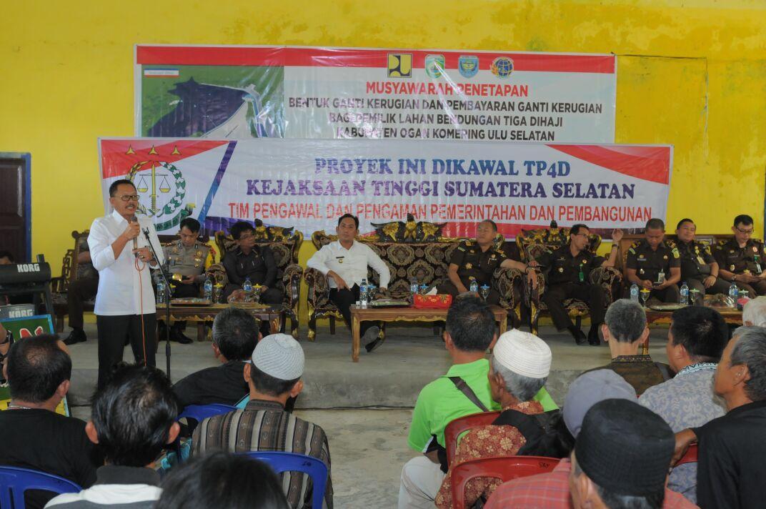 BBWS Sumatera 8 Segera Rampungkan Bendungan Tigadihaji