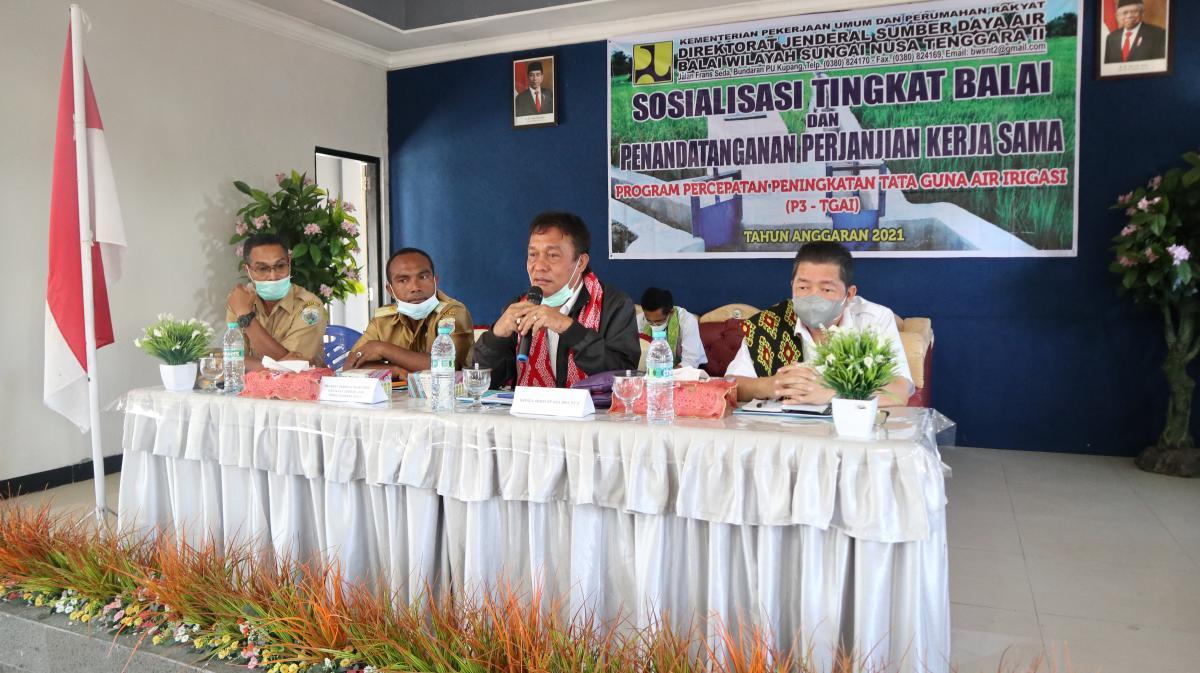 Sosialisasi Tingkat Balai dan Penandatanganan Kontrak Kerjasama P3TGAI