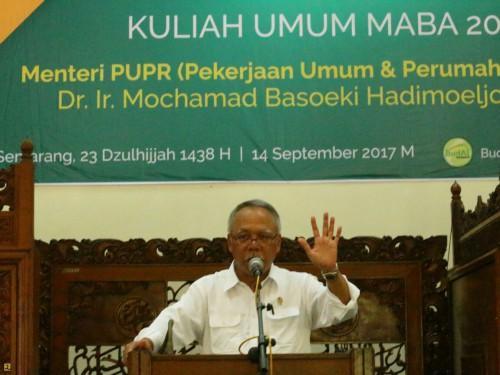 Kementerian PUPR Bangun Tanggul dan Kolam Retensi Atasi Rob Kota Semarang
