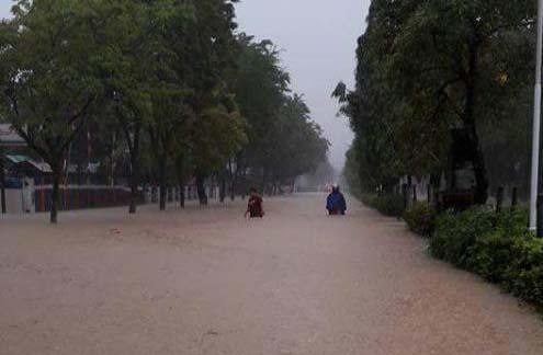 Kejadian Bencana Banjir di Kota Balikpapan Pada Tanggal 29 Agustus 2017