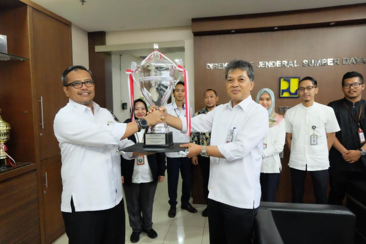 Ditjen SDA Juara Umum Porseni Harbak PU ke 74