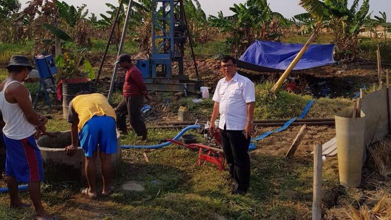 Atasi Kekeringan Kementerian PUPR Lakukan Pengeboran Air Tanah