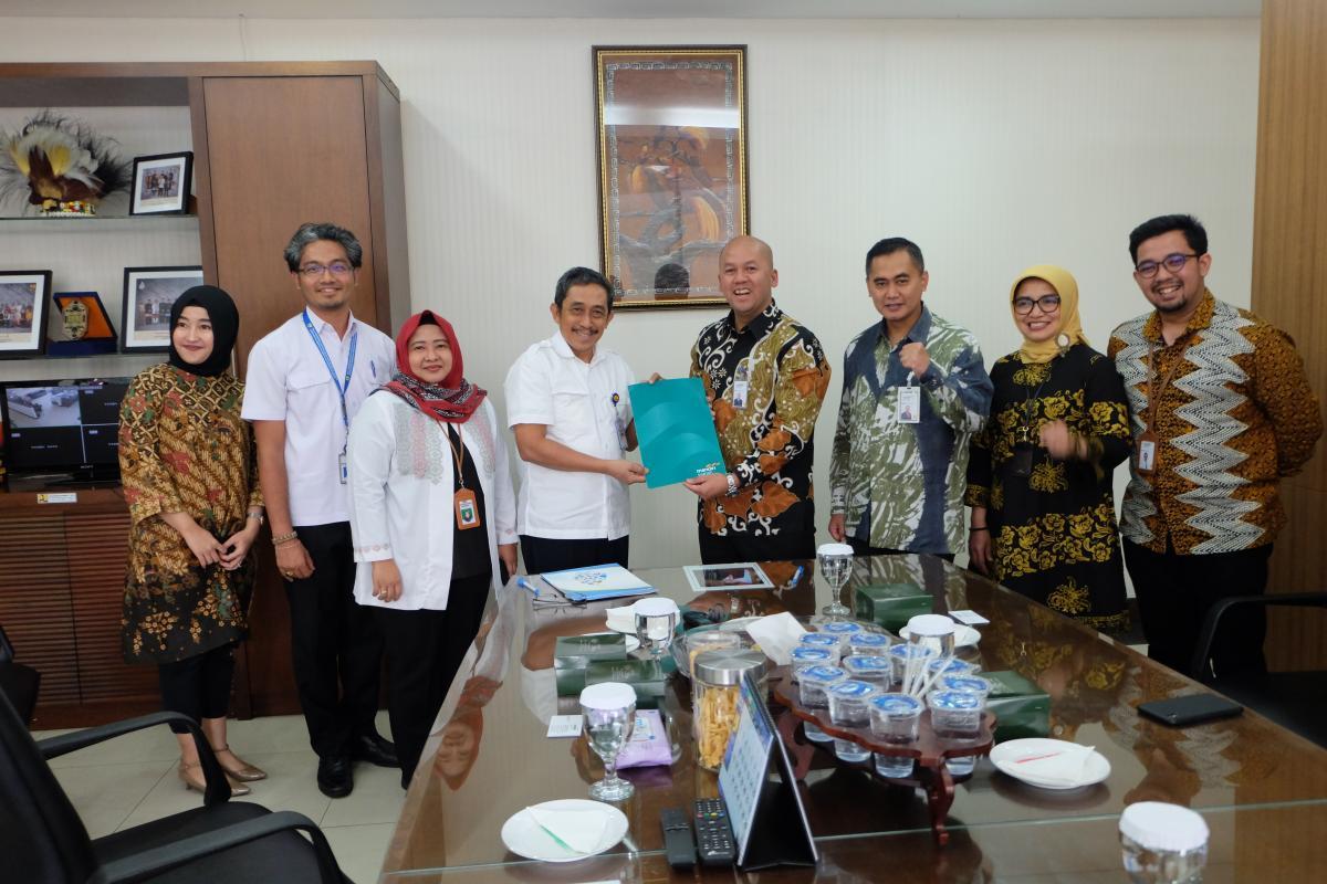 Direktorat Jenderal  Sumber Daya Air Gandeng Bank Syariah Mandiri untuk Pembayaran Gaji