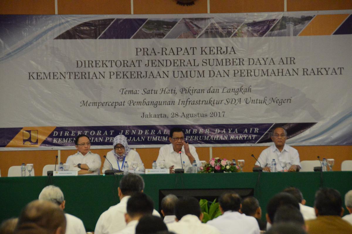 Pra Raker Ditjen SDA Percepat Pembangunan Infrastruktur Negeri