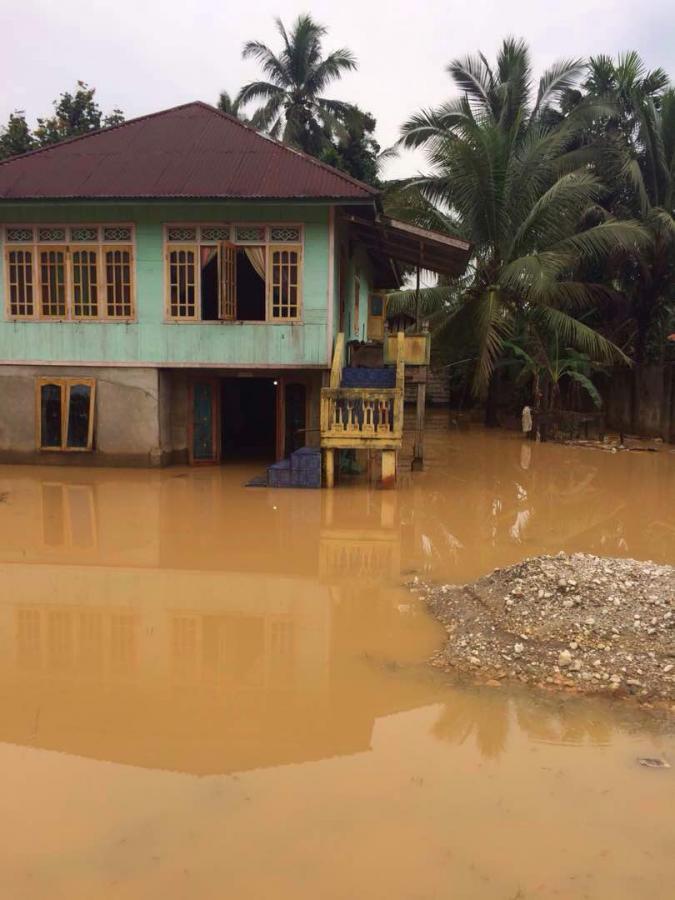 Kejadian Bencana Banjir di Kab. Sarolangun Prov Jambi Pada Tanggal 11 Mei 2017