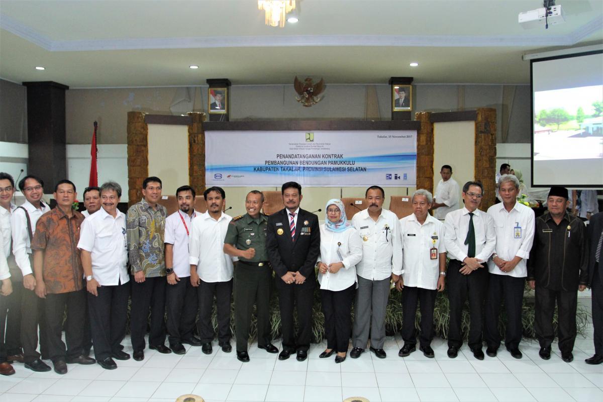 Bendungan Pamukkulu Akan Menjadi Bendungan Terbesar Ketiga di Sulawesi Selatan