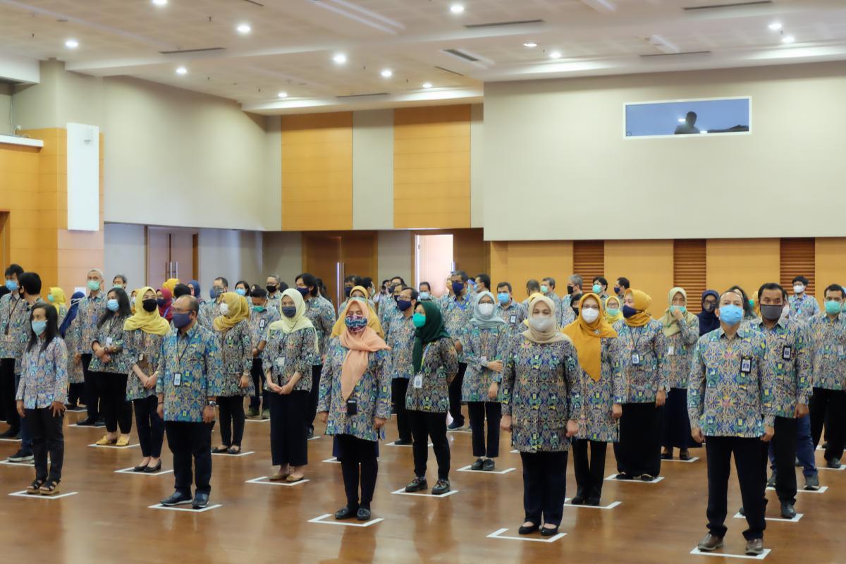 Pelantikan Jabatan Fungsional Ahli Madya dan Ahli Muda di Kementerian PUPR