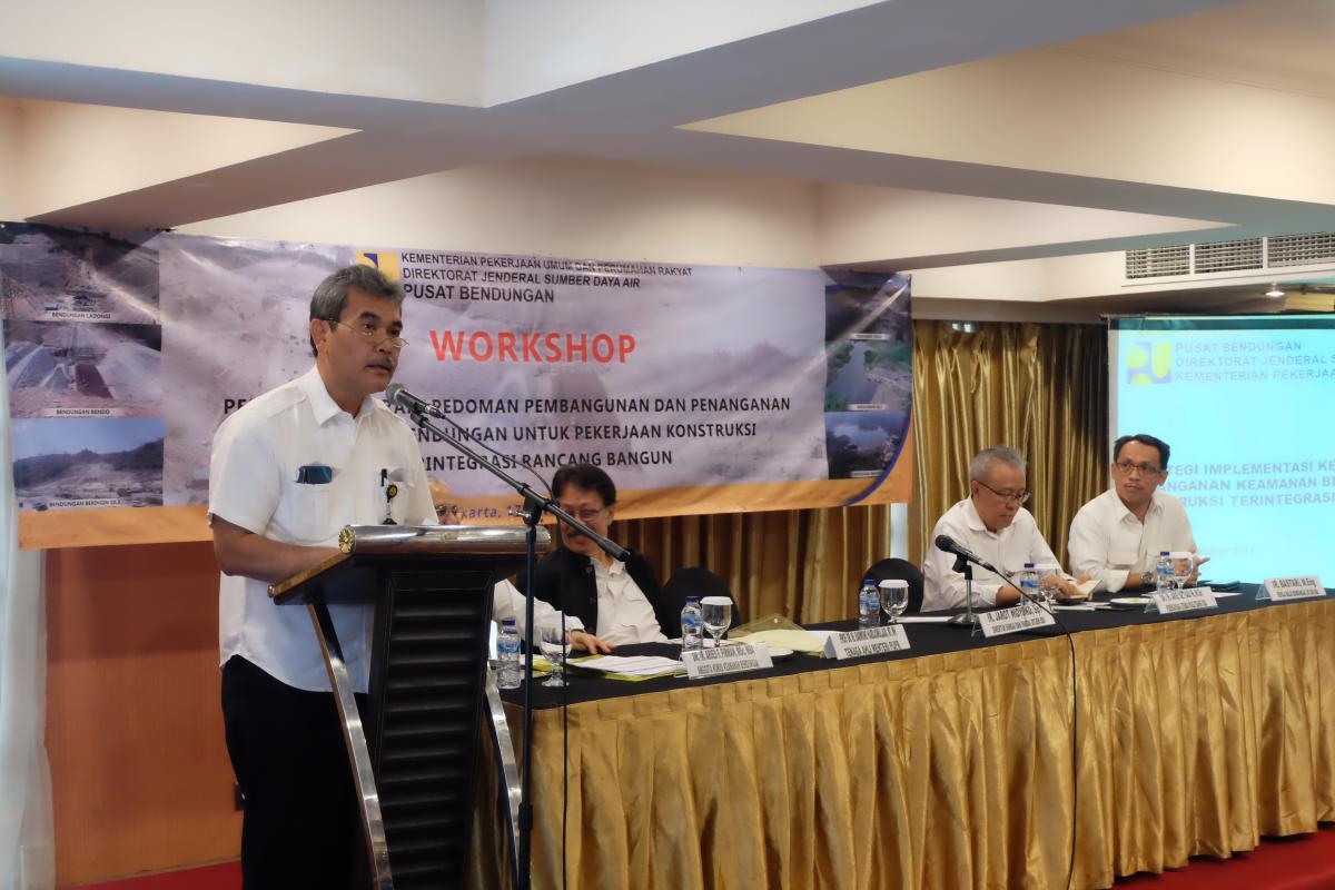 Pembahasan Draft Pedoman Pembangunan dan Penanganan Keamanan Bendungan