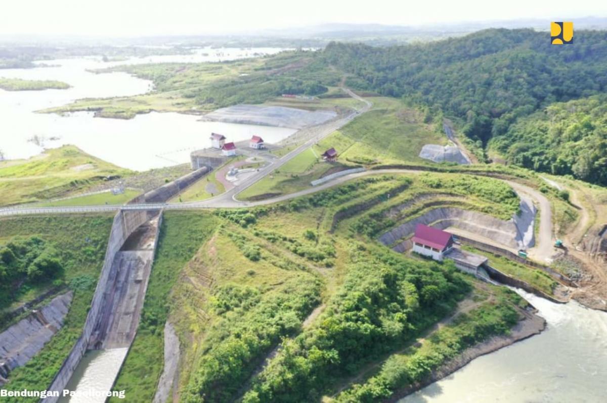 Impounding Tiga Bendungan Baru Tingkatkan Suplai Air Irigasi Untuk Lumbung Pangan Nasional