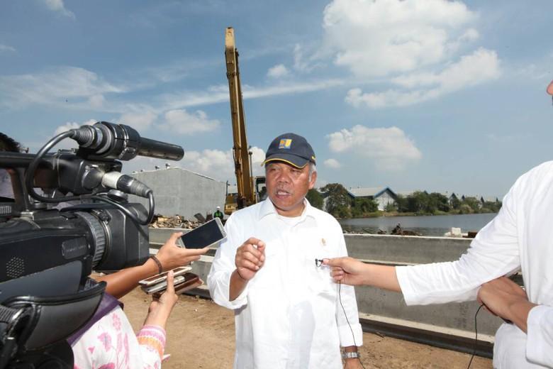 Jurus Kementerian PUPR Atasi Banjir Rob Semarang Demi Pemudik