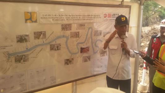Meski Ada Kendala Lahan Normalisasi Sungai Ciliwung Terus Dilanjutkan