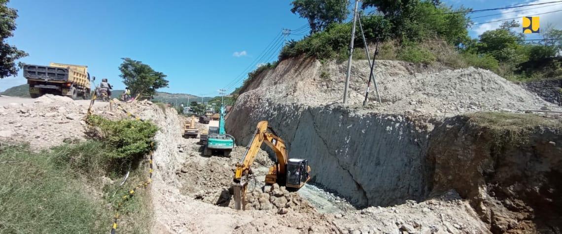 Ditjen SDA Bangun Saluran Pengendali Banjir KEK Mandalika