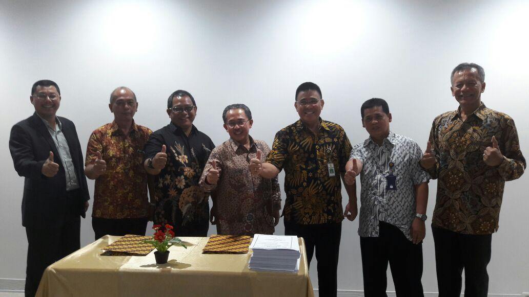 Penanda tanganan Kontrak Pembangunan Bendungan Lolak Paket II
