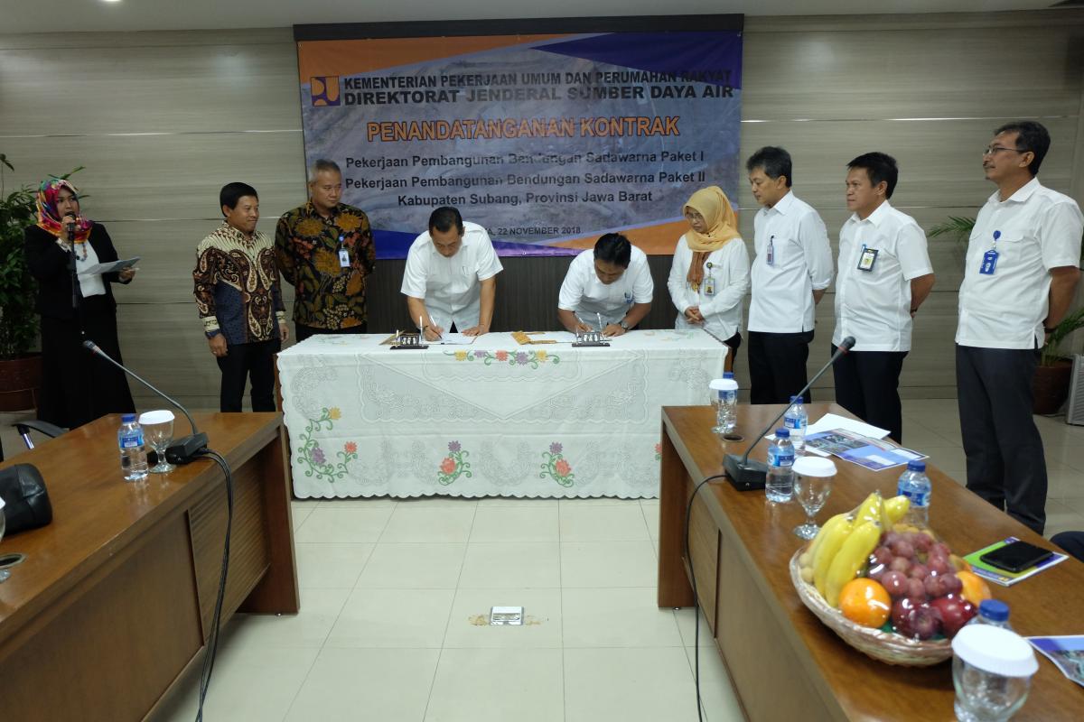 Bendungan Sadawarna di Jawa Barat Siap Dibangun