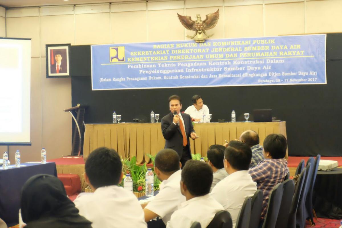 Peran Penting Kontrak Konstruksi dan Penanganan Hukum Dalam Pembangunan Infrastruktur SDA