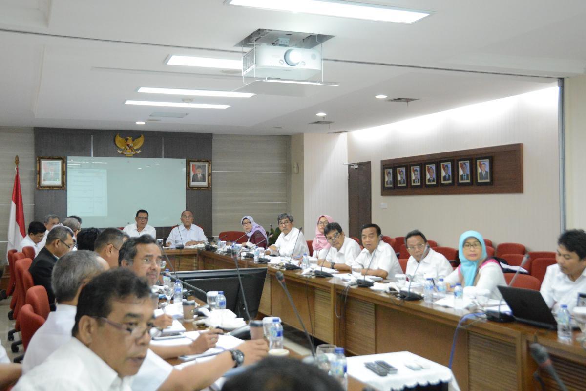 Pra Rapat Kerja Direktorat Jenderal Sumber Daya Air