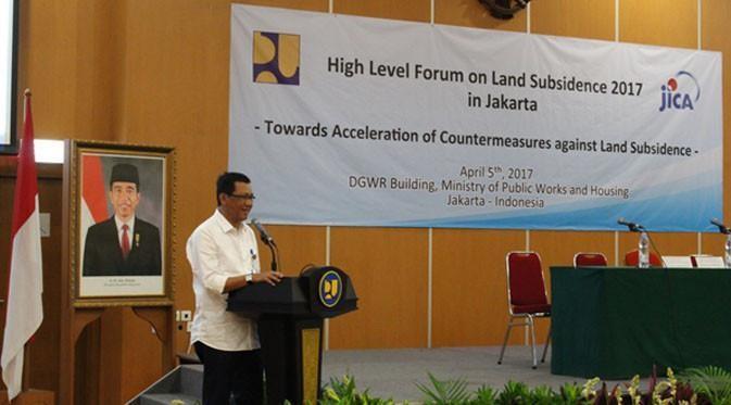 Pemerintah Butuh Data Akurat Untuk Tangani Masalah Penurunan Muka Tanah