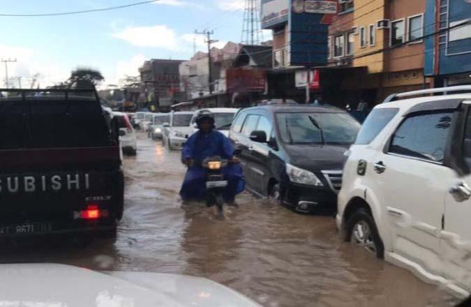 Kejadian Bencana Banjir di Kota Samarinda Pada Tanggal 23 Agustus 2017