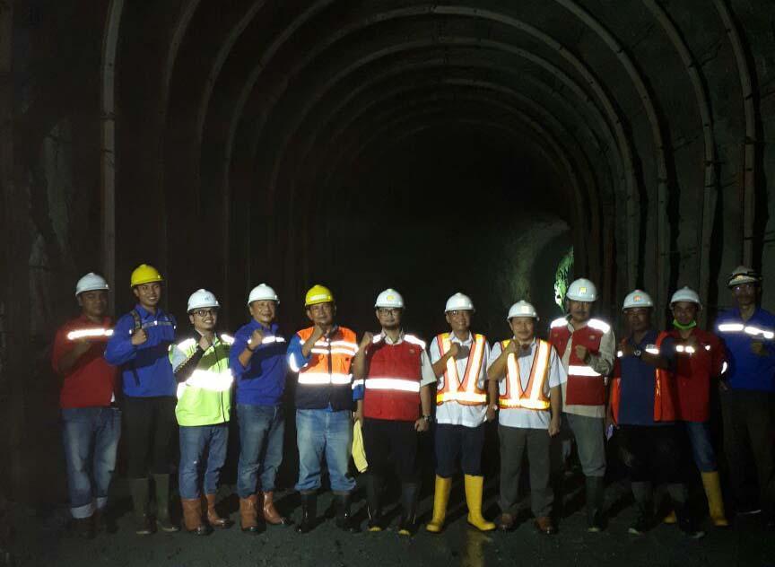 Terowongan Pengelak Bendungan Tapin