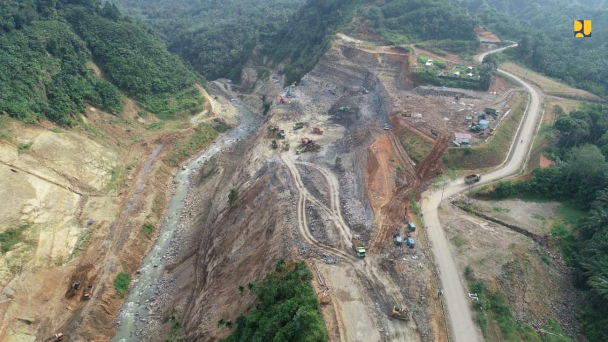 Pembangunan Bendungan Lau Simeme Dipercepat