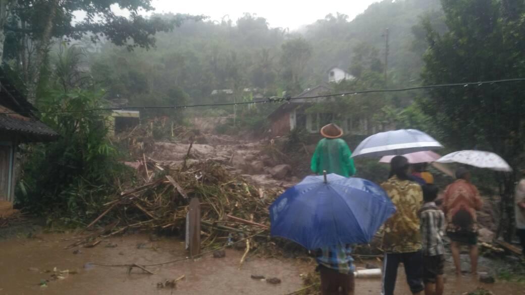 Kejadian Bencana Banjir Bandang di Kabupaten Magelang Provinsi Jawa Tengah Pada Tanggal 29 April 2017