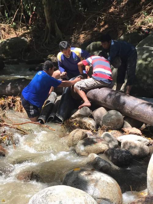 Kementerian PUPR Lakukan Penanganan Darurat Akibat Banjir dan Gempa Bumi di Sulteng