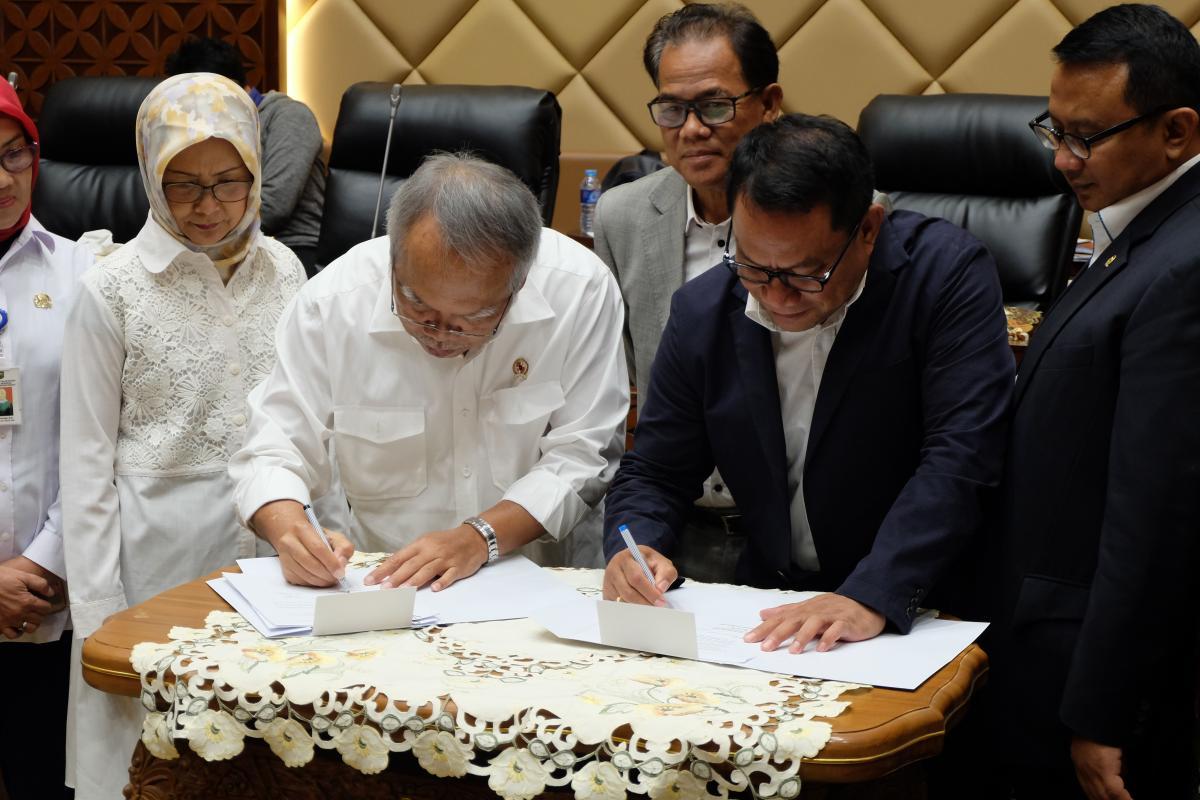 Pemerintah dan DPR memulai Pembahasan RUU SDA