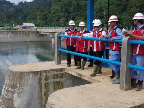 Daerah Irigasi Sawah Laweh Tarusan Manfaatkan Gravitasi Untuk Mengairi 3.273 Hektar Sawah