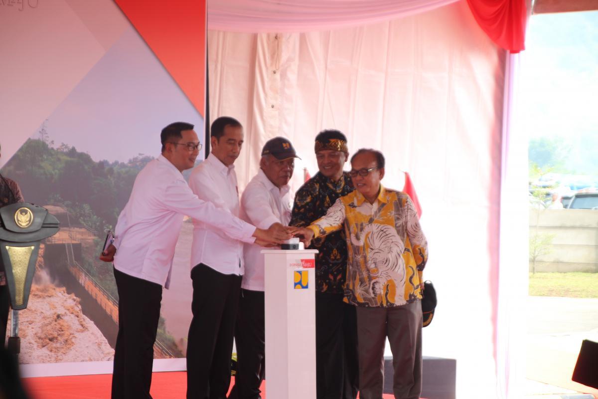 Terowongan Nanjung Diresmikan oleh Presiden Joko Widodo