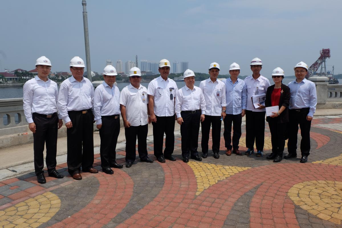 Dirjen SDA Dan Rombongan Kementerian Sumber Daya Air RRT Tinjau PTPIN Jakarta