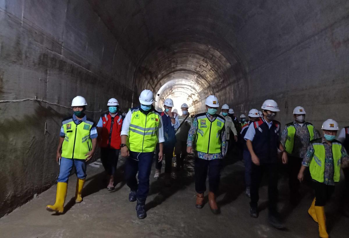 Terowongan Pengelak Bendungan Temef Siap Difungsikan