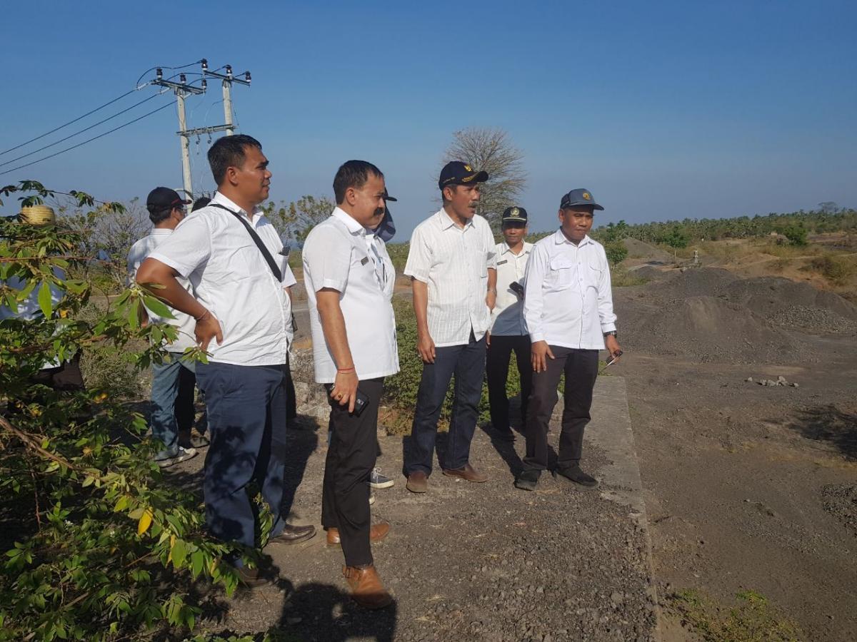Kunjungan kerja Direktur Bina OP sekaligus memberikan pengarahan dalam rangka antisipasi bencana level III (siaga) Gunung Agung Bali