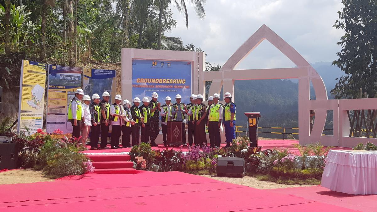 Bendungan Meninting Hadir untuk Tambah Pasokan Air di Lombok