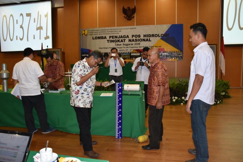 Lomba Penjaga Pos Hidrologi Tingkat Nasional 2018